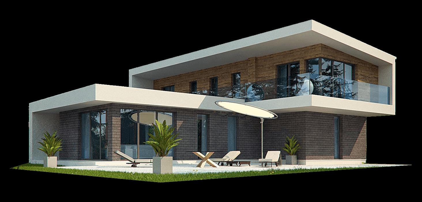 Kubistische villa bouwen evilla laat u informeren - Moderne verdieping ...