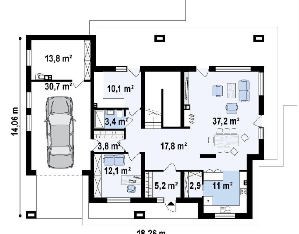 herenhuis evilla zx109 evilla. Black Bedroom Furniture Sets. Home Design Ideas